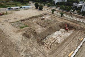 【2021/10行政大樓施工照片】